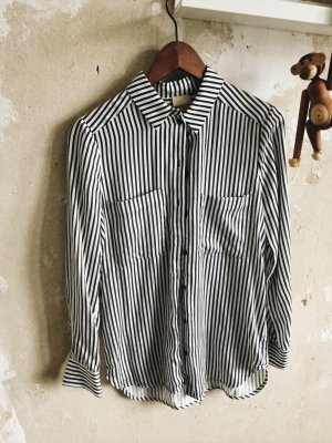 Gesteifte Lyocell-Bluse von H&M Studio