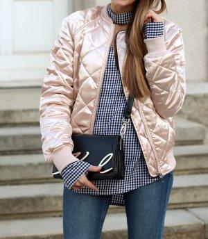 H&M Giacca bomber rosa pallido