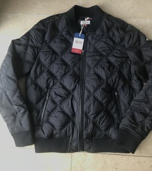 Tommy Hilfiger Denim Bomber Jacket black