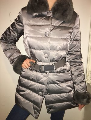 Bond Quilted Jacket silver-colored