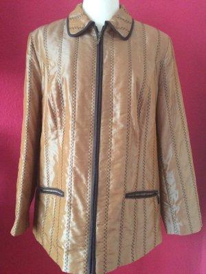 Veste matelassée doré-or rose polyester