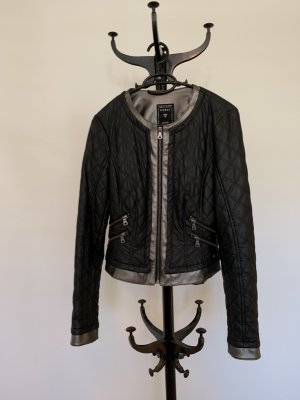 Guess Leather Jacket multicolored