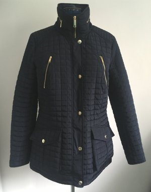 Michael Kors Quilted Jacket dark blue polyester