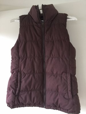 Old Navy Quilted Gilet brown red-bordeaux