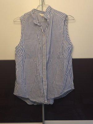 H&M Colletto camicia bianco-blu