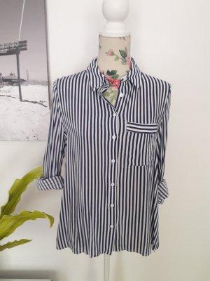 Gestreifte Bluse, Business Hemd von Mango
