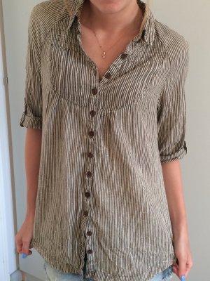 Gestreifte Bluse/ Hemd von Mango