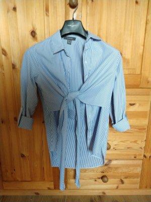 Gestreifte Bluse in blau-weiß