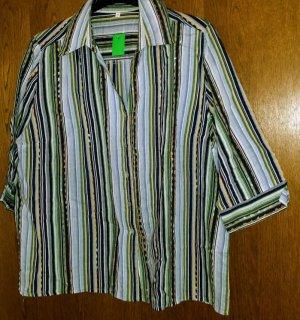 Blusa-camisa multicolor