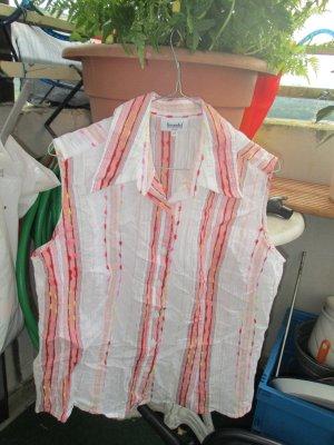 gestreifte Bluse ohne Arm