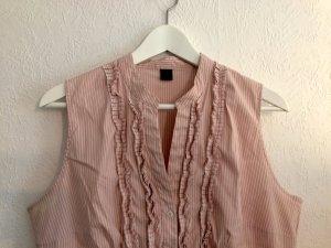 gestreifte Bluse rosa-weiß