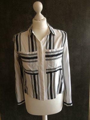 H&M Camicetta a blusa bianco-nero