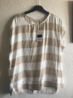 gestreifte Bluse / Shirt / Mango