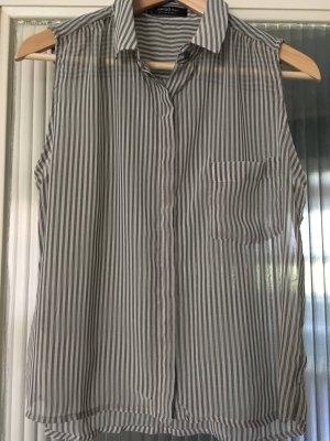 Gestreifte Bluse von Mango Gr. S
