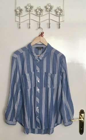 Primark Lumberjack Shirt white-azure cotton