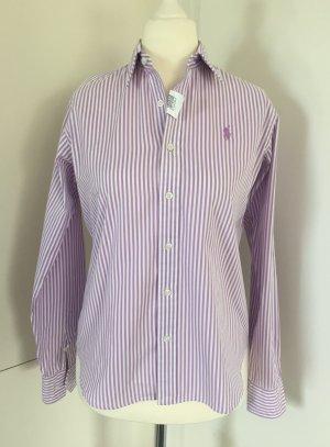 Gestreifte Damen-Hemdbluse (Slim Fit) von Polo Ralph Lauren Sport - Gr. US 10