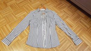 gestreifte Hemd-Bluse Grösse 40