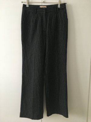 Marlene Trousers black-white