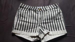 Gestreifte Jeans Shorts Gr. 42-44 Vero Moda