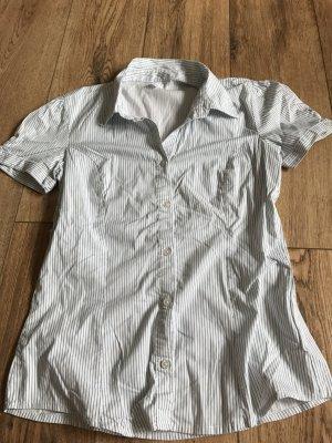 Gestreifte kurzärmelige Bluse von Vero Moda in L