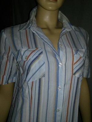Blusa de manga corta multicolor