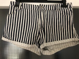 24Colours Hot Pants white-blue