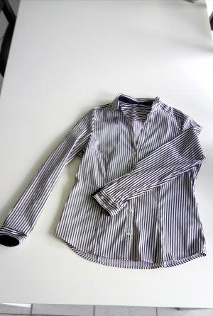Gestreifte Langarm-Bluse