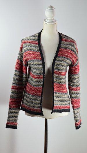H&M Gilet tricoté multicolore