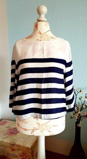 gestreifte, leichte Bluse, Oberteil von H&M