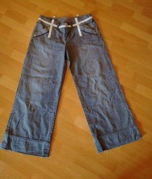 Gestreifte low-waist Jeans Gr. 38-40