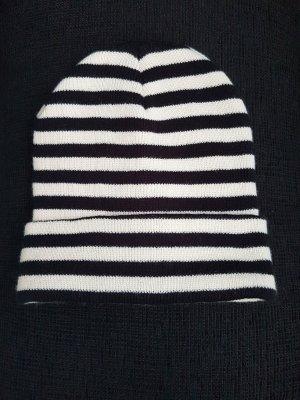 Zara Gorra blanco-negro