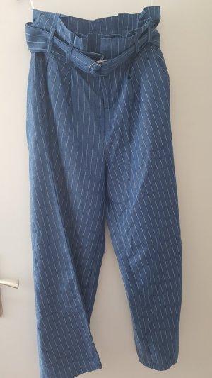 SheIn Pantalon palazzo bleu