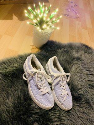 Gestreifte Schuhe Gr 37
