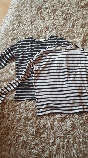 gestreifte Shirts im Doppelpack