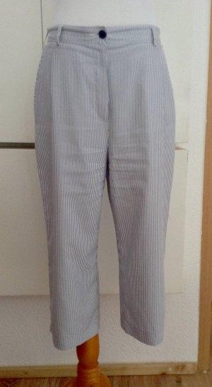 Barisal Pantalone bianco-blu acciaio