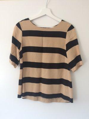 Gestreifte T-Shirt Bluse
