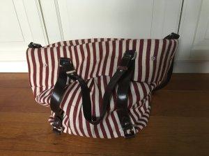 gestreifte Tasche von Zara