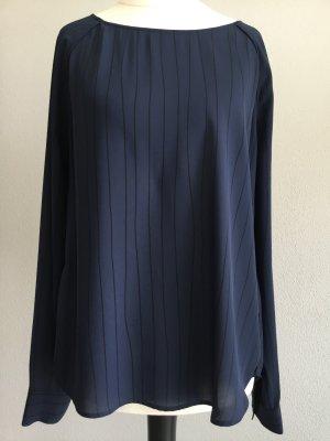 Samsøe & samsøe Tunique-blouse noir-bleu foncé