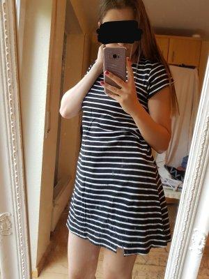 Sweat Dress white-black