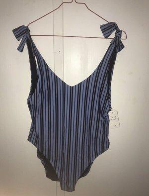 Jack Wills Zwempak zwart-blauw-paars