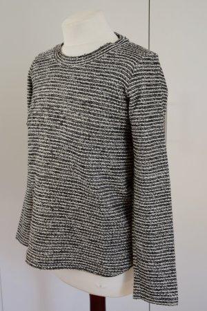 Gestreifter Glitzer Wollpulli Zara