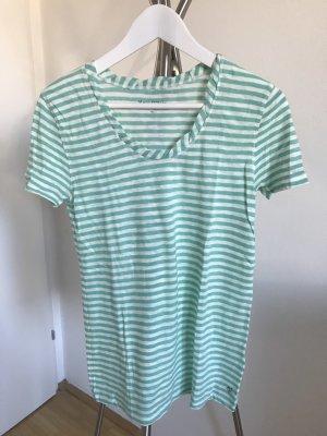 Marc O'Polo Jersey de manga corta blanco-verde claro