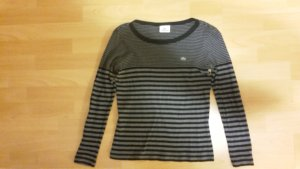 Gestreifter Lacoste-Pullover