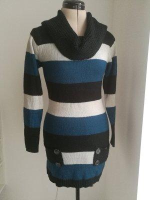 Gestreifter Long Pullover oder Minikleid