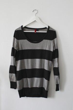 Gestreifter Long-Pullover von H&M