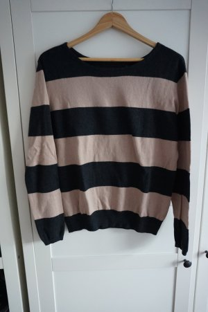 Gestreifter Marc O'Polo Strickpullover 36 S Wolle Rundhals