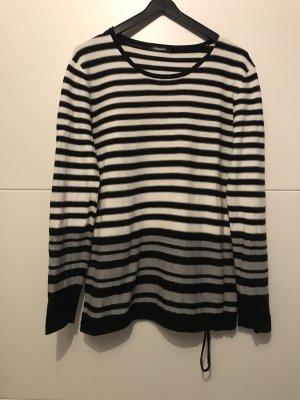 Gestreifter Olsen-Pullover