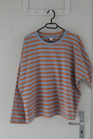 gestreifter Oversize-Sweater