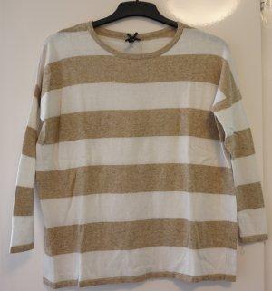 Gestreifter Oversized Pullover