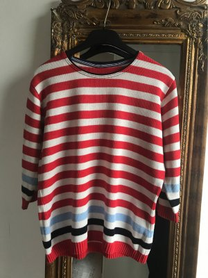 no name Short Sleeve Sweater multicolored cotton